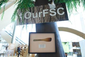 Our FSC - First labelled product